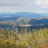 Looking towards some of the other mountains.<br /> From the summit of Mt Ponpon.