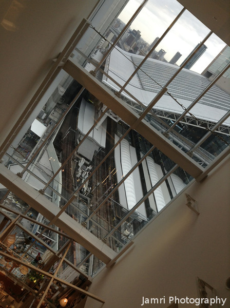 A View of JR Osaka Station.<br /> From the Hankyu Department store, Umeda, Osaka.