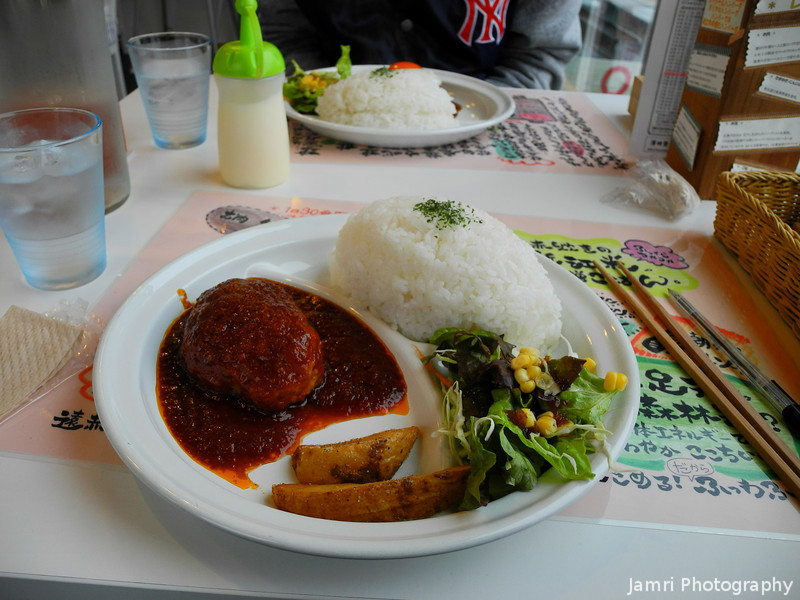 """A Delicious Lunch.<br /> One good thing came out of getting the wrong bus, we found a great little restaurant. I want to go back there again sometime.<br /> The name of the restaurant is """"Fuwatto""""."""
