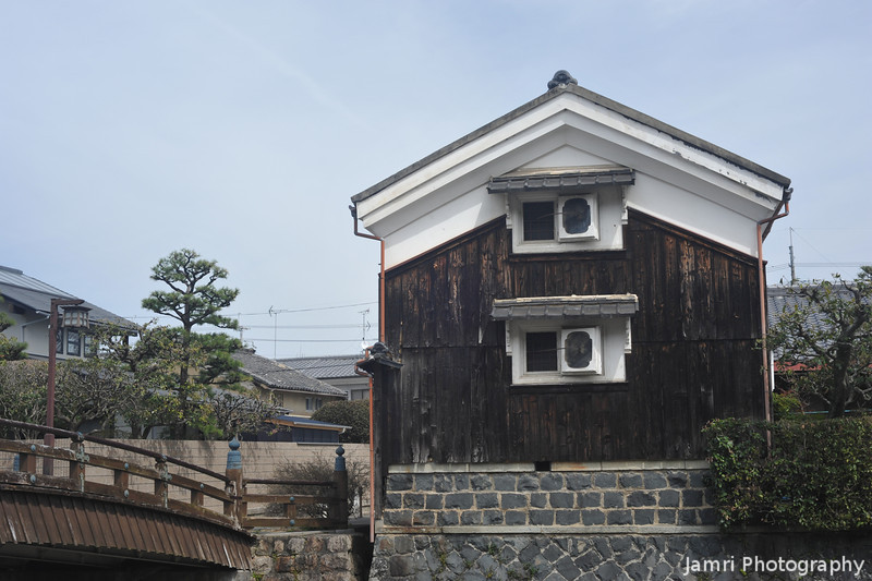 An Old Building in Yawata city.