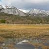 Mountain Reflections.<br /> Makino, Shiga Prefecture.