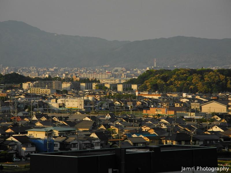 Towards Downtown Kyoto City