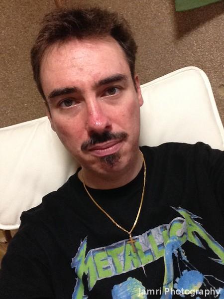 Metallica T-Shirt Selfie