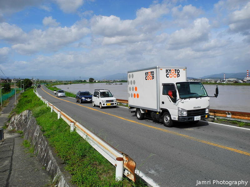 Approaching the Katsuragawa