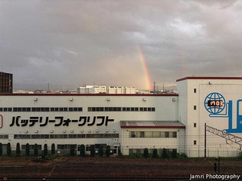 Rainbow Behind the Nichiyu Building
