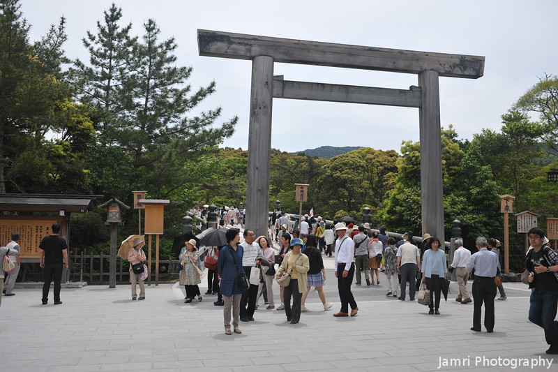 The First Gate of Ise Jingu