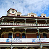 Restoration of an old icon.<br /> The National Hotel in Fremantle. This old hotel was badly damaged by a fire in 2007. The restoration had also hid financial troubles more recently, but it looks like this beautiful old building is back on track to being a Fremantle Icon again.