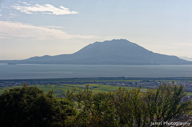 A View of Sakurajima