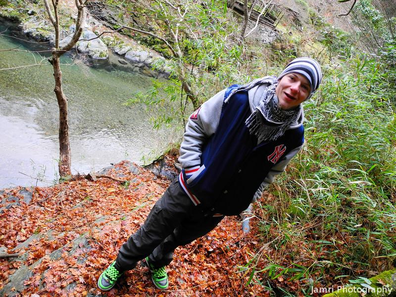 Jayden on the Hike.<br /> Near Arashiyama, Kyoto.