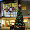 Christmas Tree at the Aeon Mall.<br /> Kumiyama, Kyoto-fu, Japan.