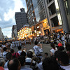 A Street Performance.<br /> At the 2012 Gion Matsuri in Kyoto. Gives you an idea of how crowded it was.
