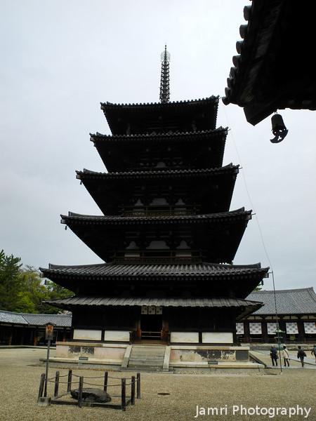 Japan's Oldest 5 Storey Pagoda.