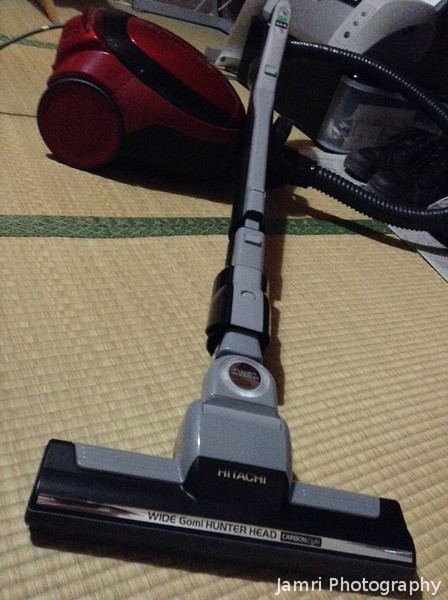 "Our New Vacuum Cleaner.<br /> Finally got rid of the old one which we ""inherit"" from missionaries who went back to Australia 2 years before we arrived in Japan."