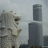 Merlion.<br /> Photo by Ritsuko.