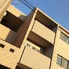 Apartment Block in Golden Light.