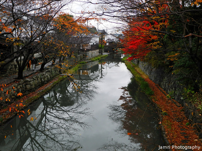 Autumn in Omi Hachiman.