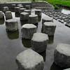 Stepping Stones.<br /> Over the Inugawa (dog river) in Nagaokakyo.