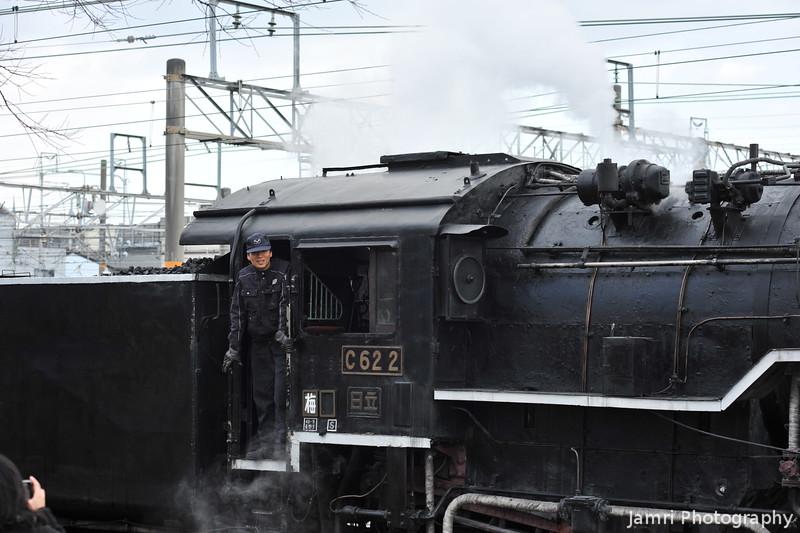 Passing Steam Train