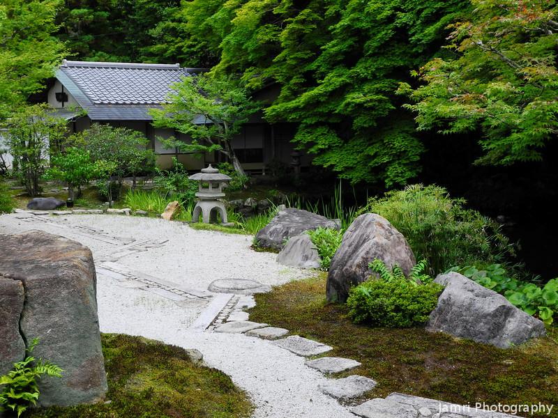 Towards a Stone Lantern