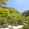The Rock Garden.<br /> At Mimuroto-ji (a Buddhist Temple), in Uji city, Kyoto-fu, Japan.