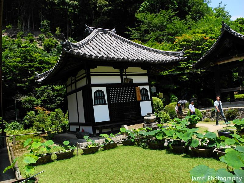 A little building.<br /> At Mimuroto-ji, Uji, Kyoto.