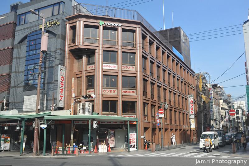 At the the Shijo-Hanamikoji intersection