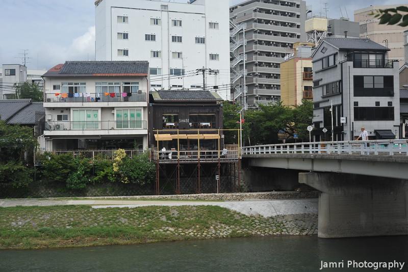 By a Bridge