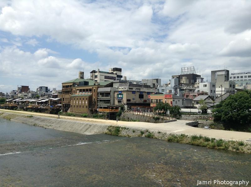 Across the Kamogawa