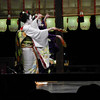 Graceful Dancing.<br /> Maiko (apprentice Geisha) at performing for the public at the 2013 Higashiyama Hanatouro in Kyoto.