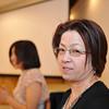 Ritsuko at the Reception.<br /> Of Mio and Yuta's wedding.