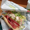 """A Late Lunch.<br /> After my little detour it was time for a late lunch of a 6"""" BLT at Subway before getting stuck into the Christmas Shopping."""