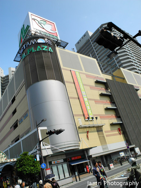 The Back of the AL-Plaza.<br /> In Takatsuki, Osaka-fu.