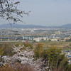The View Towards Yodo.<br /> From Mt. Otoko, Yawata city, Kyoto-fu.