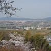 The View Towards Yodo.<br /> From Mt. Otoko, Yawata city, Kyoto-fu.