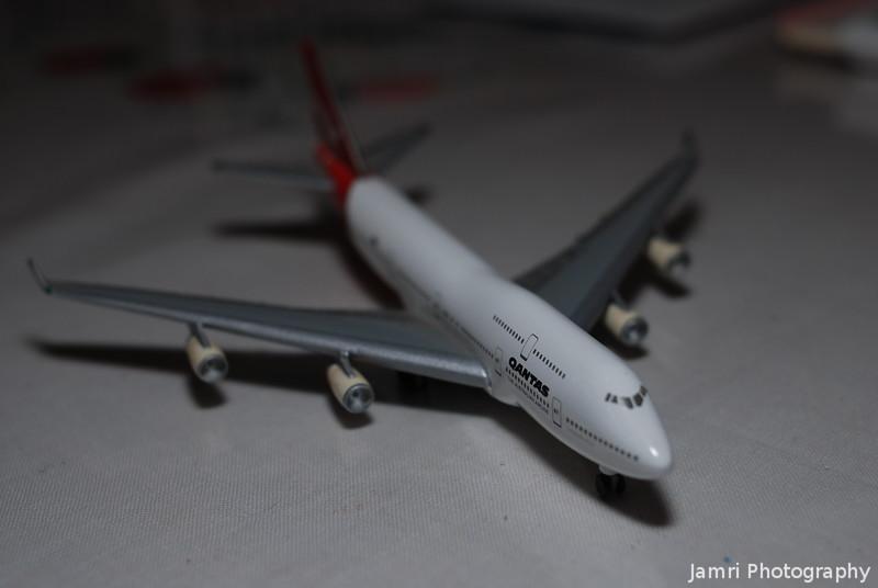 "Herpa Wings QANTAS B747-400 ""Long Reach"""
