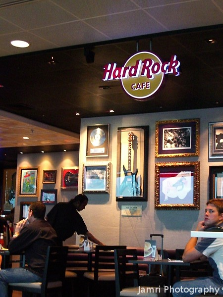 Breakfast at the Hard Rock Cafe