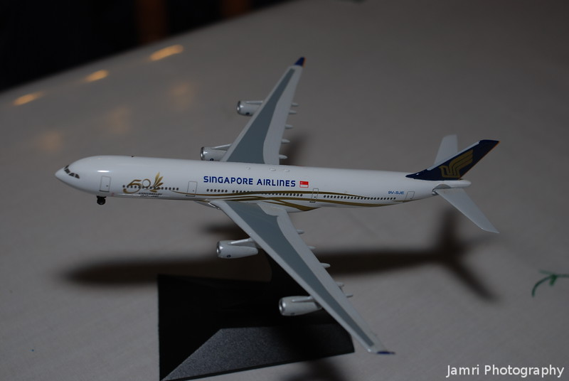 "Dragon Wings Singapore Airlines A340-300 ""Celestar"" (Jubulie Livery version)"