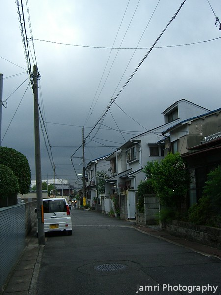 A View Down the Street