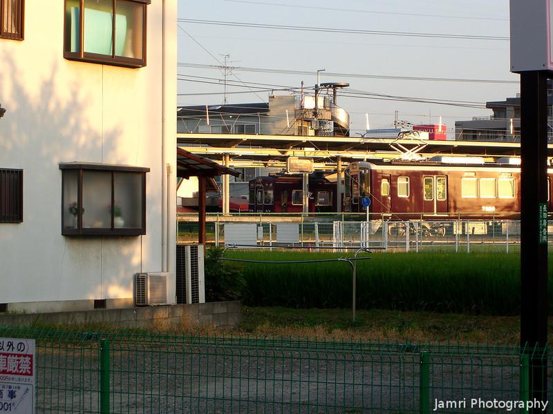 Towards Hankyu Nagaoka Tenjin Station