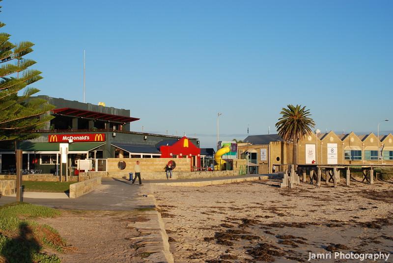 Beach Front McDonald's
