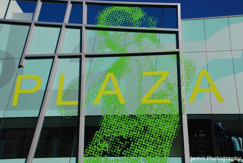 Plaza Arcade Entrance
