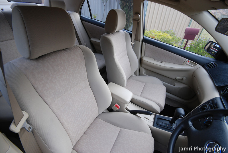 The Interior of Ritsuko's Car