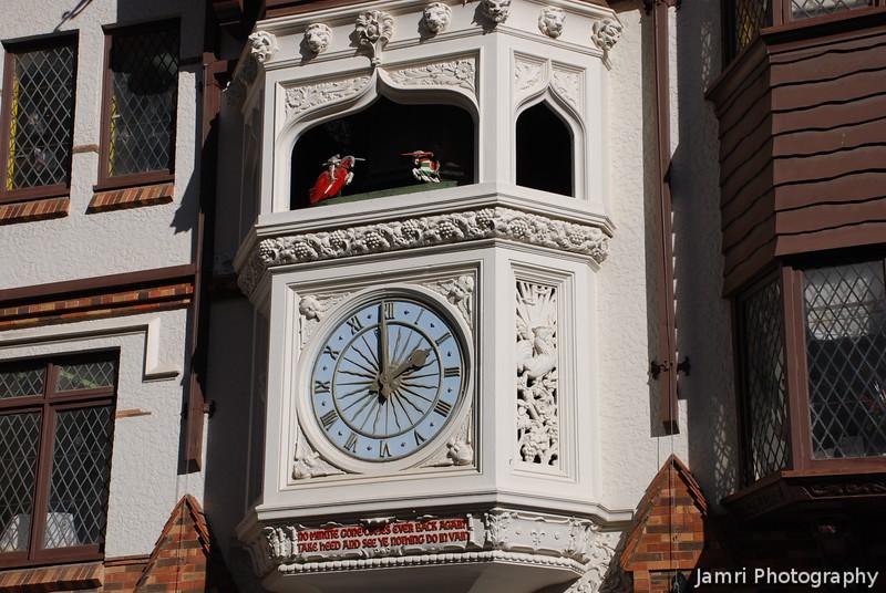 London Court Clock