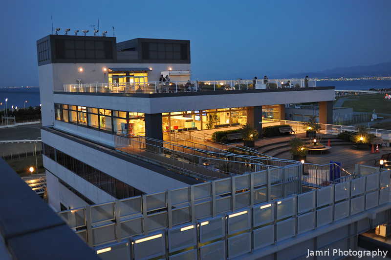 Sky View Decks.<br /> At Kansai Airport.