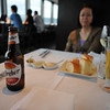 Bread and Drinks.<br /> This was the last shot we took in the restaurant, I put the camera away before I started handling the food. We eat two pizzas and a bit of pasta. Best pizzas in Japan so far! However, not as much choice in other food compared to the other Italian Restaurant in the Isetan building.