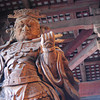 Temple Guardian.<br /> At Todai-ji in Nara.