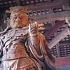 Temple Guardian.<br /> At Todai-ji in Nara.