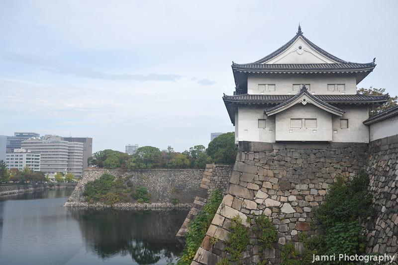 Old and New Osaka.