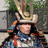 "Samurai Lord.<br /> One of the characters in the Garasha Matsuri parade. The Garasha Matsuri honours Hosokawa Gracia (aka ""Garasha"") the wife of a local Lord one of Nagaokakyo's first Christians. Which just happened to be on the same day as we celebrated our 1st anniversary of living in Japan."