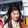 "Garasha.<br /> A Photo of a Lady playing the main character Garasha in the Garasha Matsuri parade. The Garasha Matsuri honours Hosokawa Gracia (aka ""Garasha"") the wife of a local Lord one of Nagaokakyo's first Christians. Which just happened to be on the same day as we celebrated our 1st anniversary of living in Japan."